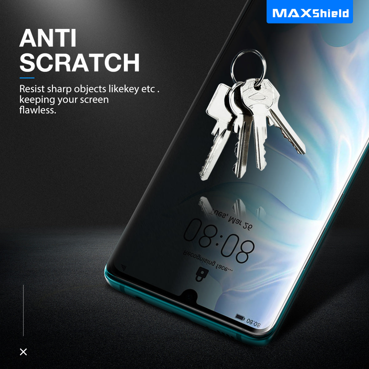 Anti Spy Privacy Film CaseFriendly Screen Protector For Huawei P30 Pro