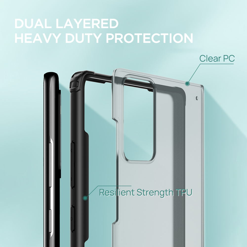 Samsung Galaxy Note 20 Case Rugged Armor Slim Shockproof Bumper Cove