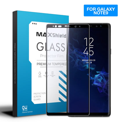 Samsung Galaxy Note 9 MAXSHIELD 3D Tempered Glass Full Coverage Screen Protector