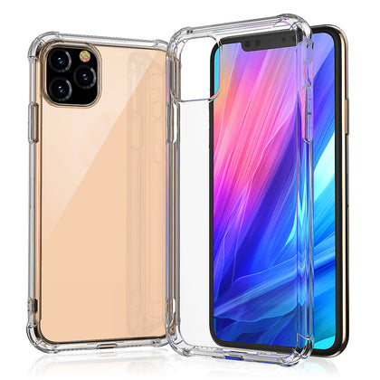 iPhone 11  Case Clear Heavy Duty 2019 Shockproof TPU Bumper Cover