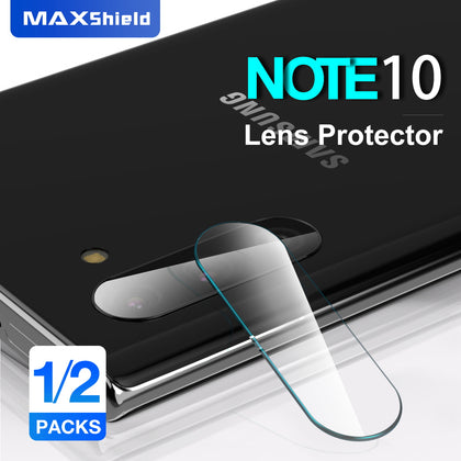 Samsung Galaxy Note 10 Plus Maxshield Back Camera Lens Tempered Glass Protector