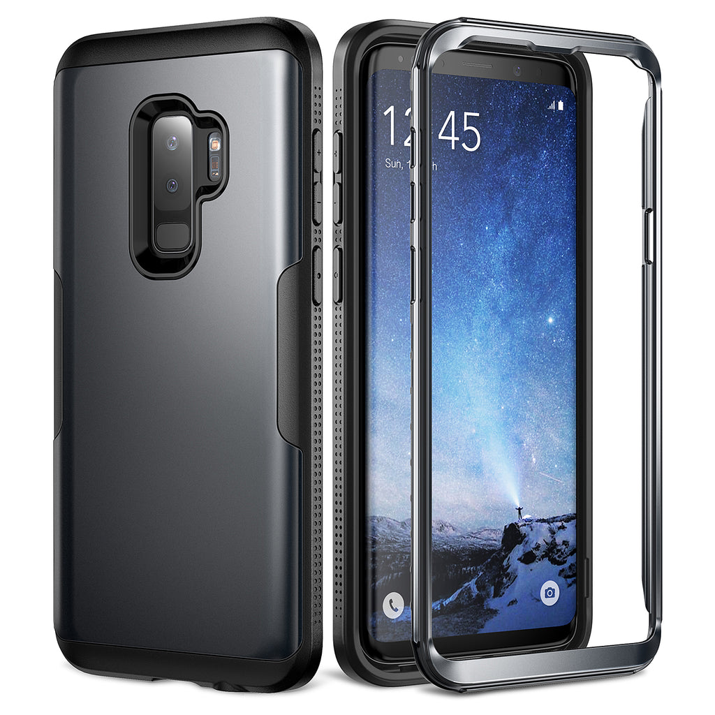 new style 459cc 119a7 YOUMAKER® Samsung Galaxy S9 Plus HEAVY DUTY Shockproof Case Cover ...