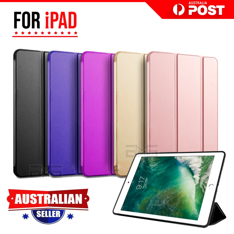 Apple iPad Pro 9.7 Leather Shockproof Flip Smart Case Cover