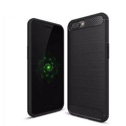 OPPO AX5 Case Cover, Carbon Fiber Brushed Texture Soft Flexible TPU Case For OPPO