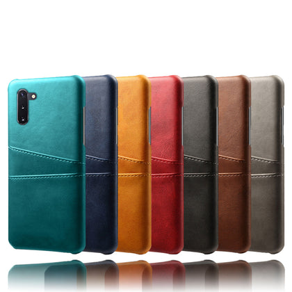 For Samsung Galaxy Note 10 Leather Cards Wallet Case Cover