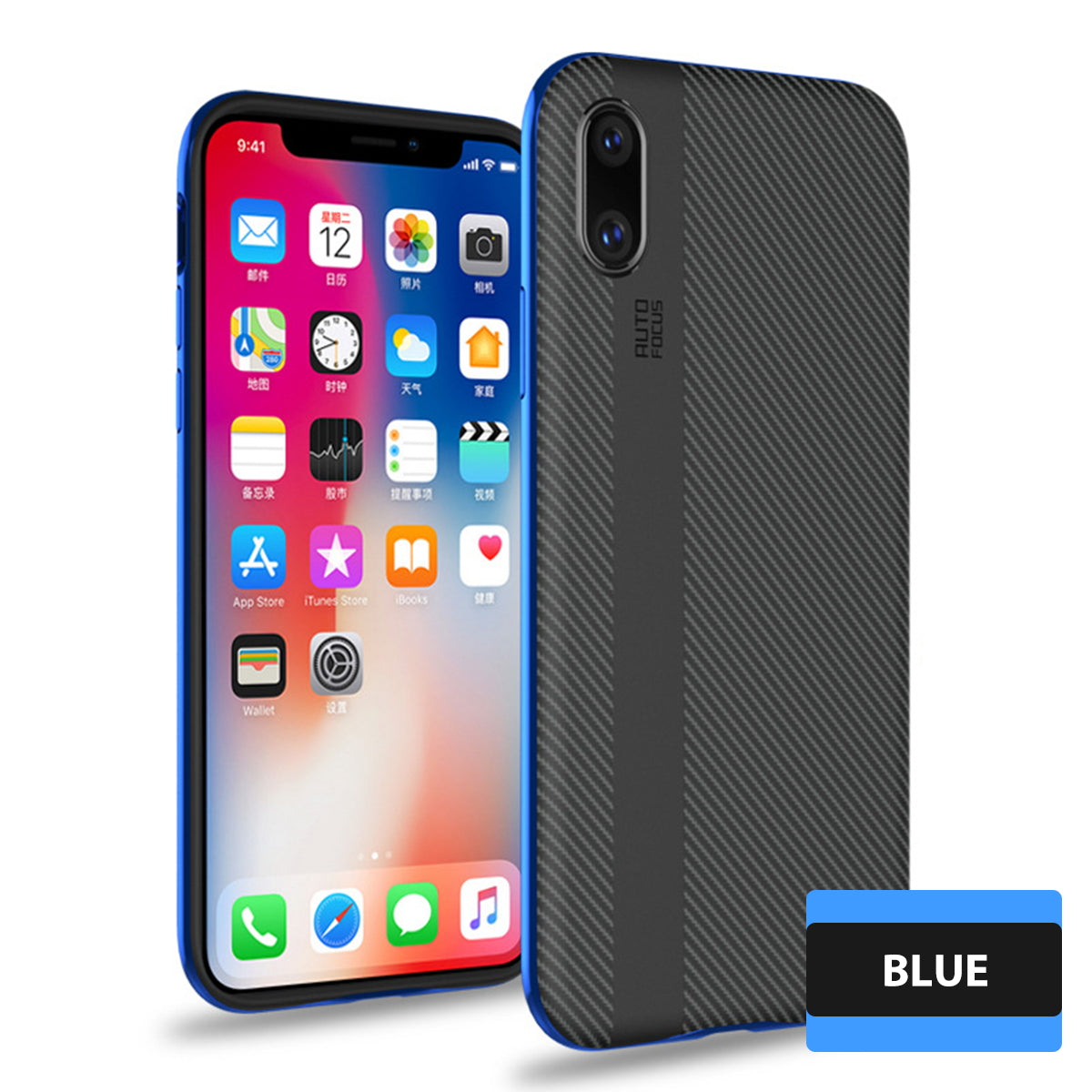 iPhone X Case Cover Shockproof Hybrid Armor Hard Silicon Bumper