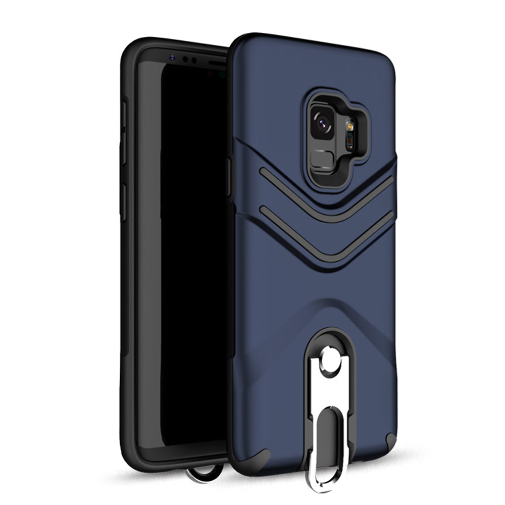Samsung Galaxy S9 Plus Hybrid Shockproof Hard Kickstand Case Heavy Duty Cover