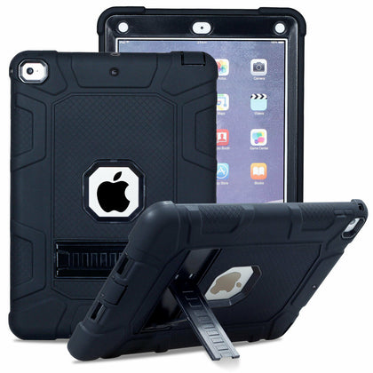 For iPad 2/3/4 Shockproof Rubber Stand Hard Case Cover
