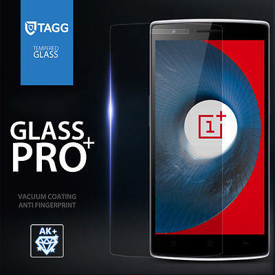 GENUINE TAGG TEMPERED GLASS SCREEN PROTECTOR FILM FOR OnePlus One 1+1 A0001