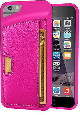 iPhone 6 6s/ 6 plus Wallet Case-Q card Case-Ultra Slim Protective Carrying Case