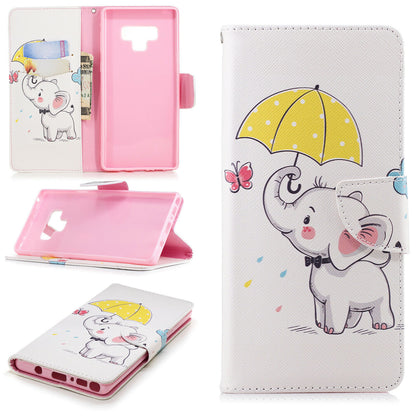 Samsung Galaxy A70 Wallet Leather Case Flip Magnetic Card Slot Cover-Elephant