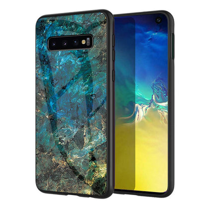 Samsung Galaxy S10 Plus Case Glass Heavy Duty Shockproof Slim Cover
