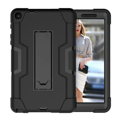 For Samsung Tab A 8.0 2019 SM-P200 P205 Military Hybrid Shockproof Stand Case
