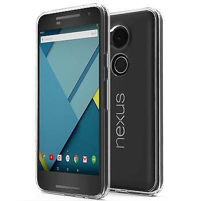 Nexus 5X Case Cover, TAGGSHIELD Crystal Shield Bumper +GLASS Screen Protector