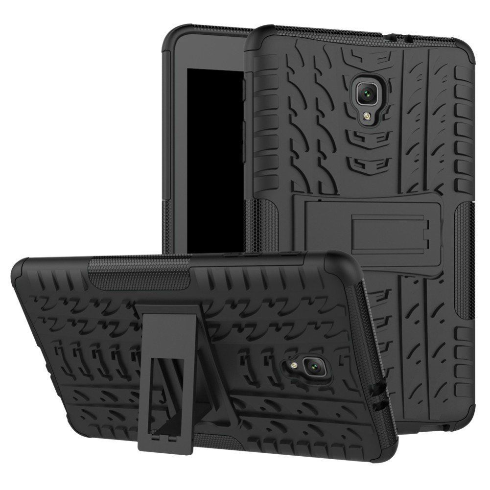"Galaxy Tab A 8.0"" 2017 T385 Case Heavy Duty Armor Hard Back Kickstand Cover"