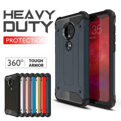 Motorola Moto E5 Case, Rugged Heavy Duty Case Cover