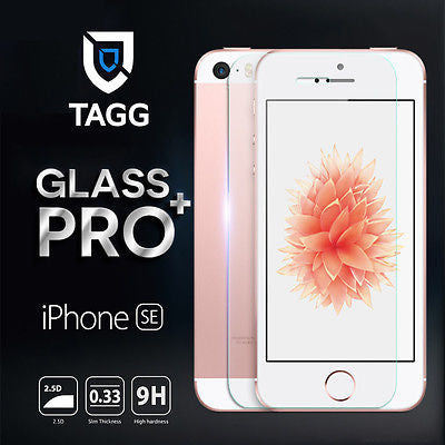 GENINE TAGGSHIELD TEMPERED GLASS SCREEN PROTECTOR FOR iPhone SE 5 5S 5C