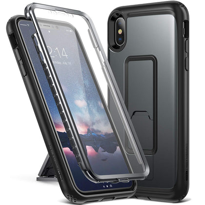 iPhone Xs Max Kickstand Case, Genuine Yourmaker Heavy Duty Protection Cover