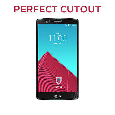 GENUINE TAGG 9HR TEMPERED GLASS SCREEN PROTECTOR FILM FOR LG G4