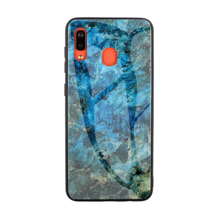 Samsung Galaxy A30 Case Clear Glass Duty Shockproof Slim Cover