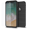 iPhone 7 Thin Shockproof Full Body Soft Case Cover Wth Tempered Glass