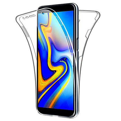 Samsung Galaxy A70 Case 360°Shockproof Full Soft Clear Silicone Cover