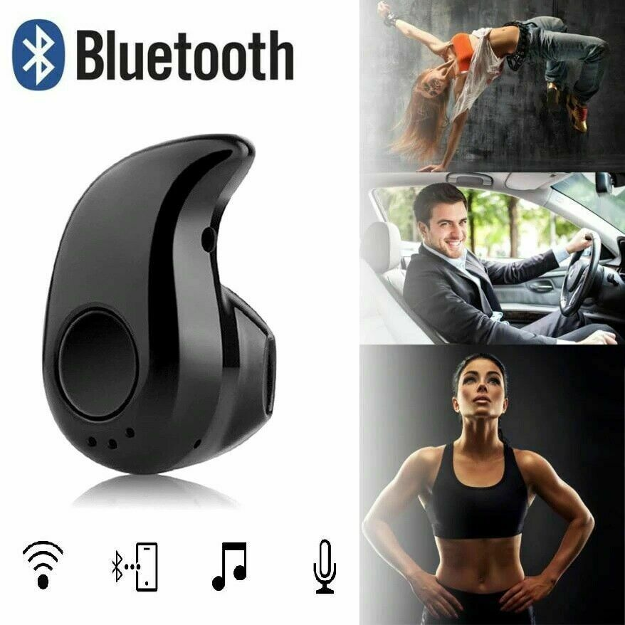 Wireless Bluetooth Earphones Headphones Earbuds for Samsung Android Apple iPhone