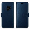 Galaxy S9 Case, 2in1 Card Holder Leather Magnetic Flip Slim Cover