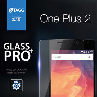 GENUINE TAGG TEMPERED GLASS SCREEN PROTECTOR FOR OnePlus One Plus Two 1+2