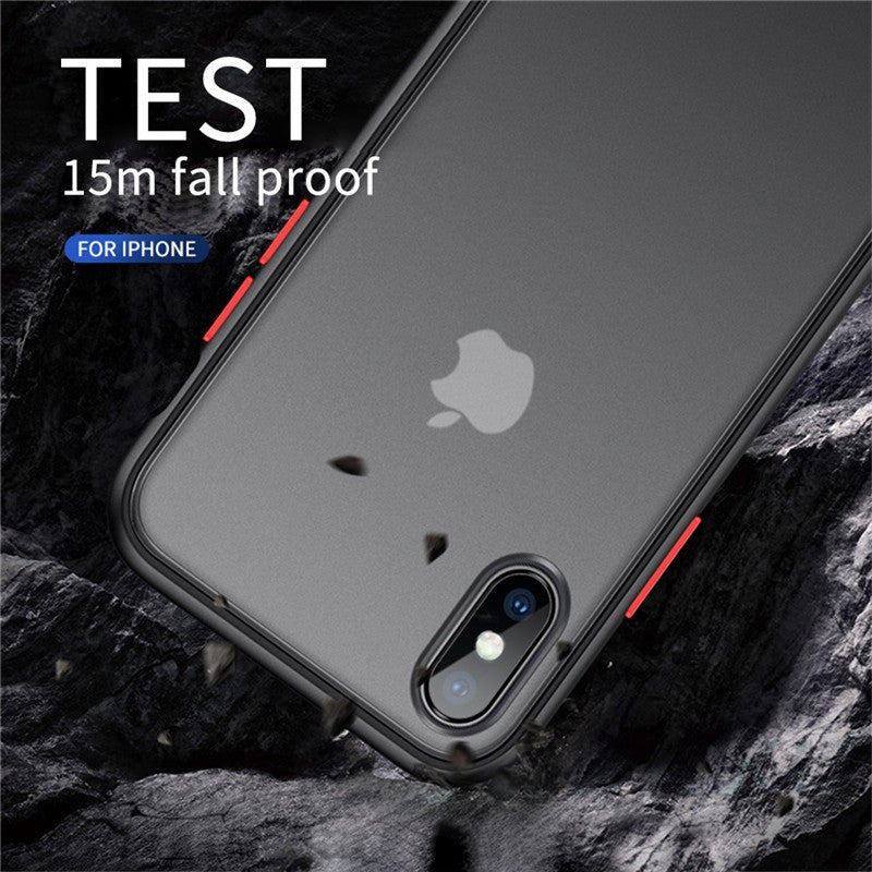 iPhone 11 Bumper Case Clear Hard Shockproof Slim Hybrid Cover