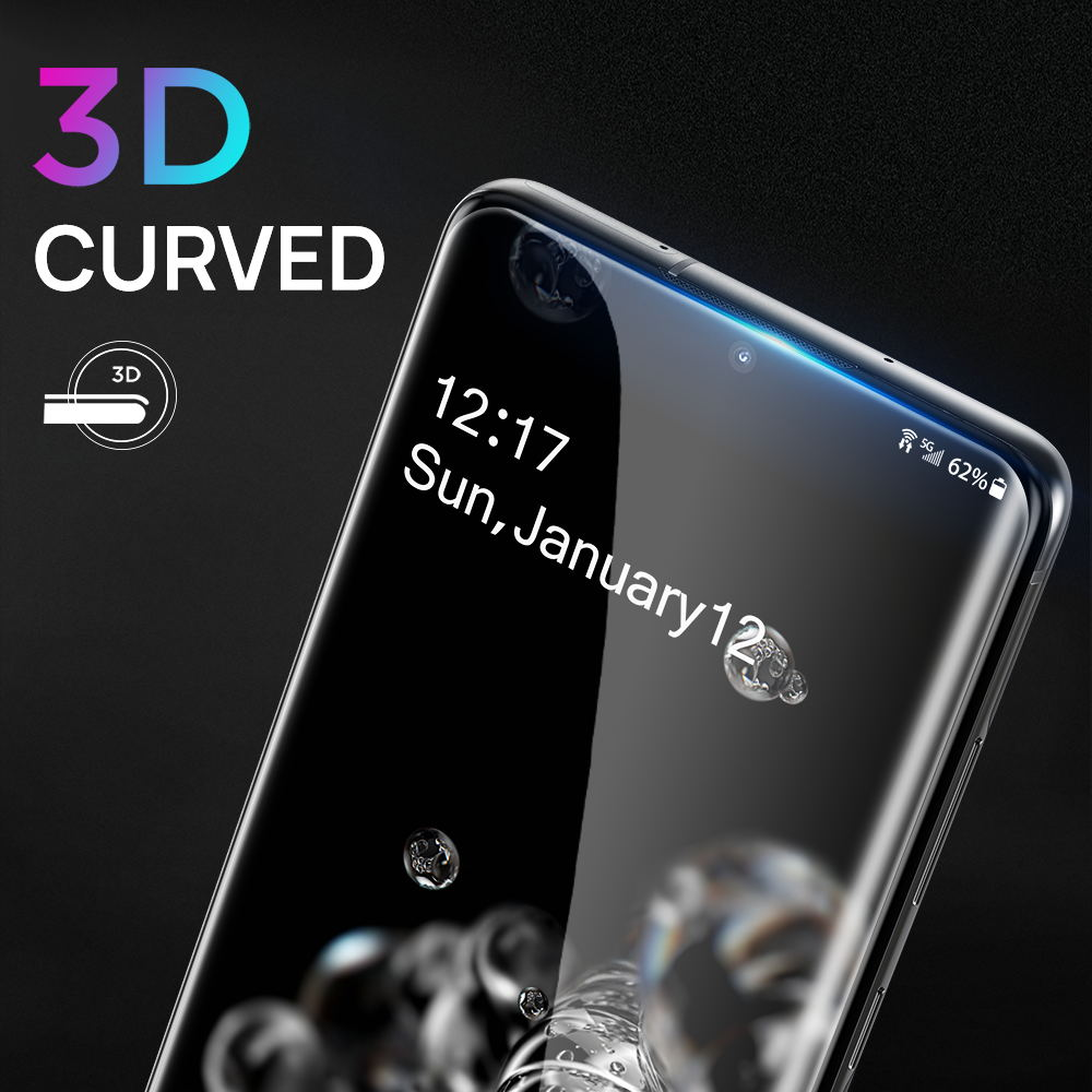 Samsung Galaxy S20 Screen Protecto Tempered Full Cover UV Glass