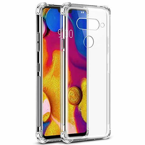 For LG V30 Clear Case Heavy Duty Bumper Shockproof Cover