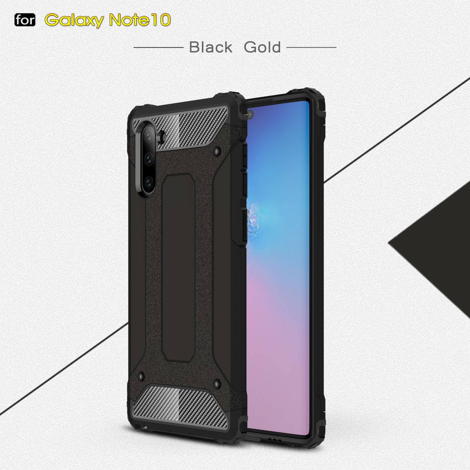 Galaxy Note 10 Plus 5G Case Genuine Tough Armor Hard Cover for Samsung