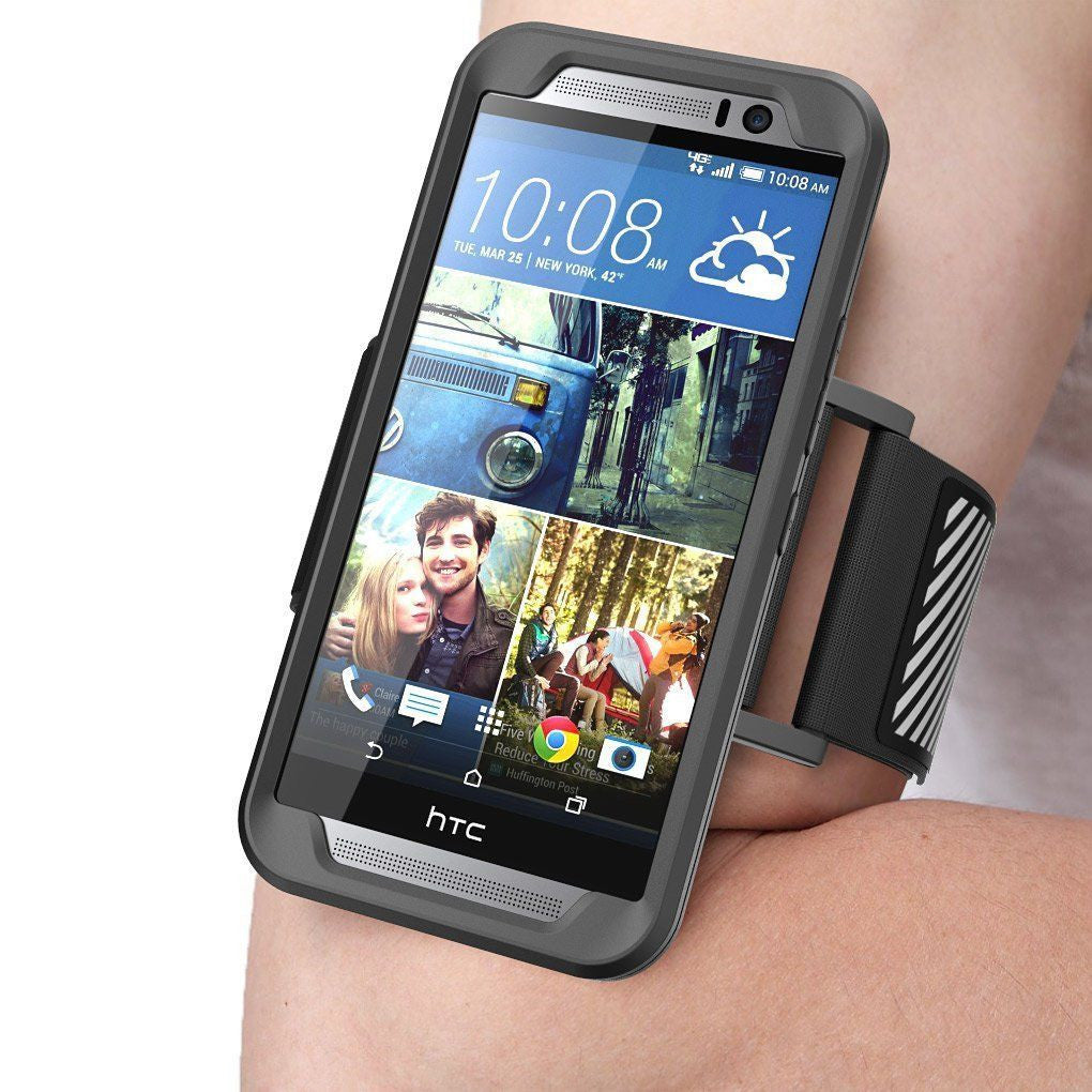 GENUINE ARMBAND POUCH GYM RUNNING SUPCASE FOR HTC ONE M9