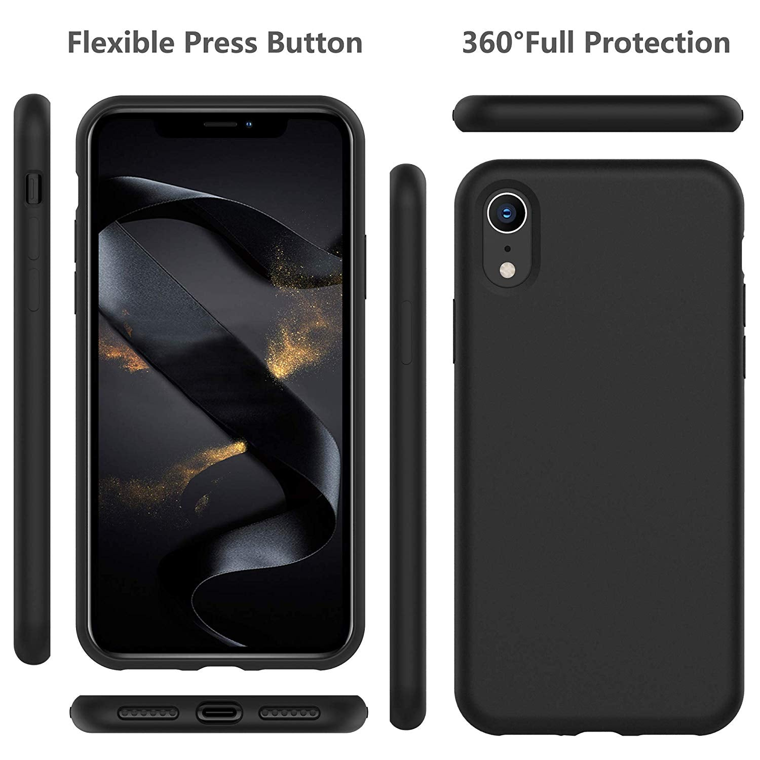 iPhone XR Thin Soft Silicone Case Cover