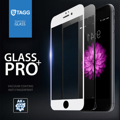 TAGG FULL SCREEN TEMPERED GLASS SCREEN PROTECTOR FOR APPLE IPHONE 6S 6 PLUS