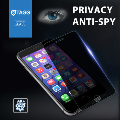 TAGG ANTI-SPY PRIVACY TEMPERED GLASS SCREEN PROTECTOR FILM FOR IPHONE 6S 6 PLUS