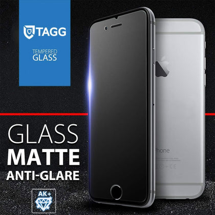 GENUINE TAGG MATTE TEMPERED GLASS SCREEN PROTECTOR FOR APPLE IPHONE 8 IPHONE 8 PLUS