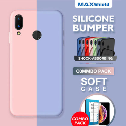 Samsung Galaxy A20 Case Premium Flexible Soft Anti Slip Bumper Cover