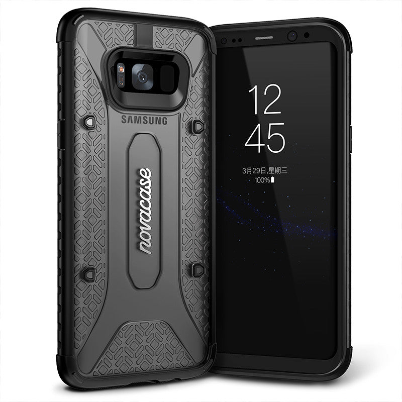 Galaxy S8 Plus Case, Genuine Novacase Ultra Hybrid Slim Hard Clear Cover
