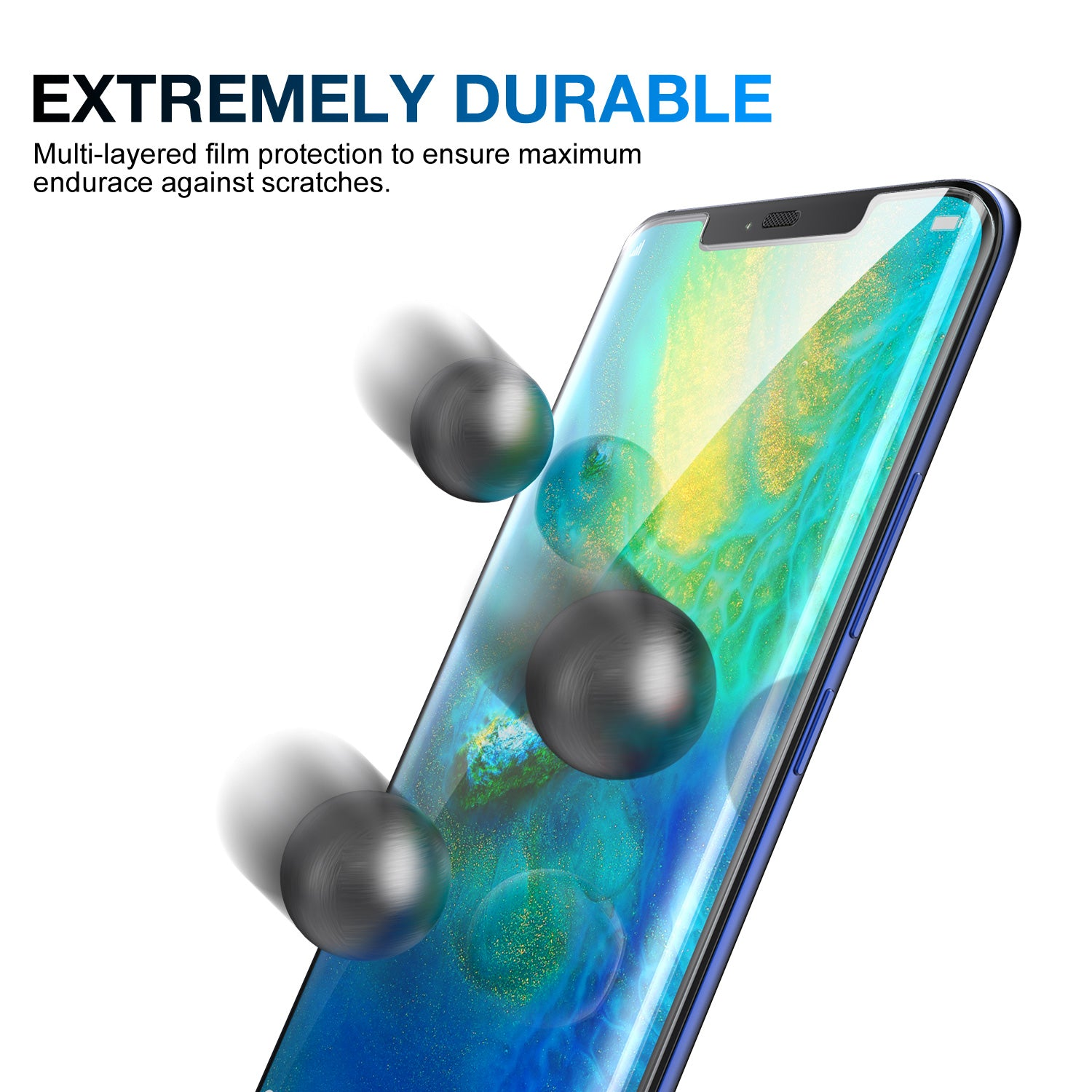 Huawei Mate 20 Pro HYDROGEL AQUA FLEXIBLE Crystal Film Screen Protector