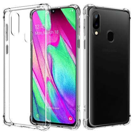 Samsung Galaxy A70 Clear Case Shockproof Gel Heavy Duty Tough Cover