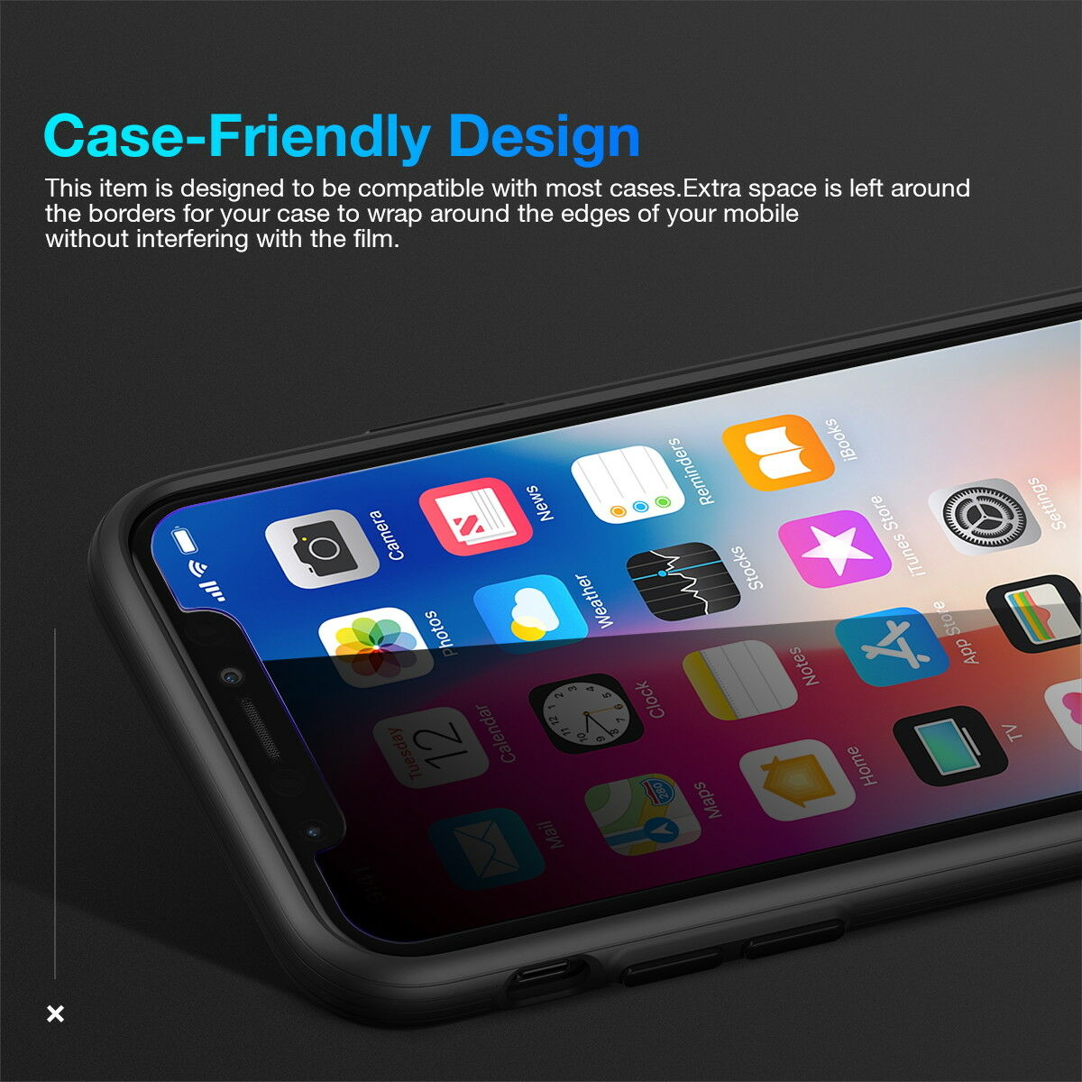 ANTI-SPY PRIVACY TEMPERED GLASS SCREEN PROTECTOR FOR Apple iPhone 11 Pro 5.8""