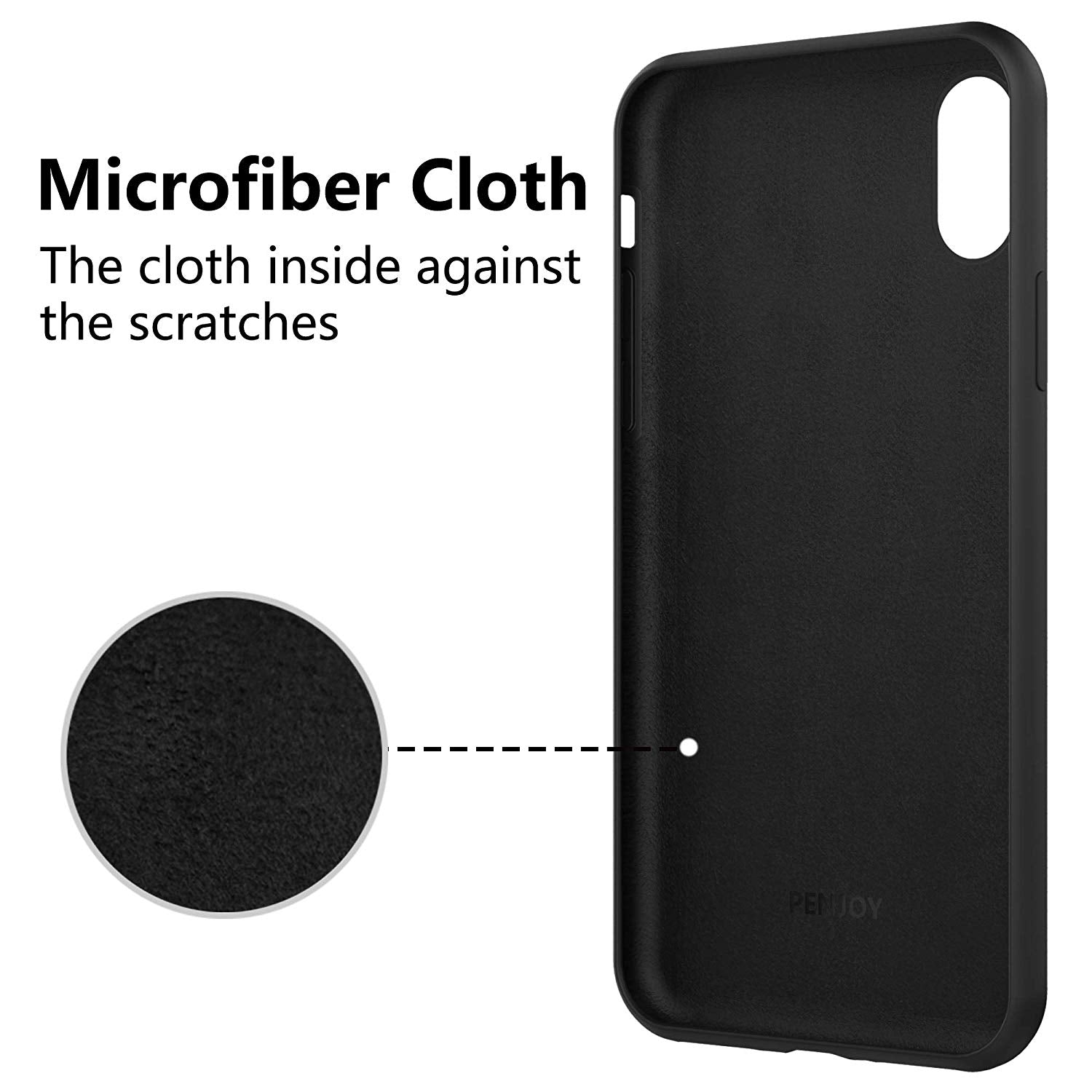 iPhone 8 Plus Thin Soft Silicone Case Cover