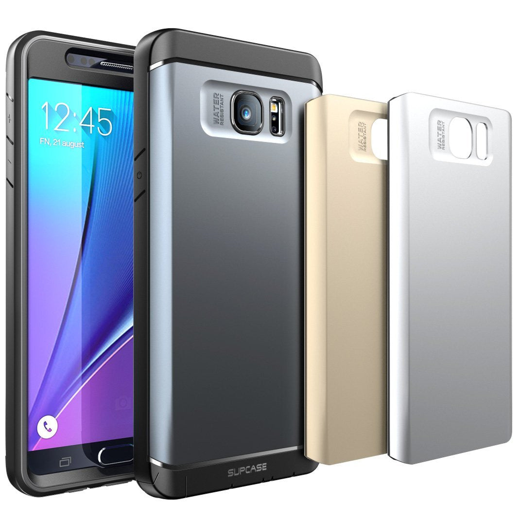 Genuine SUPCASE For Samsung Galaxy Note 5  Water Resist Tough Heavy Duty Case
