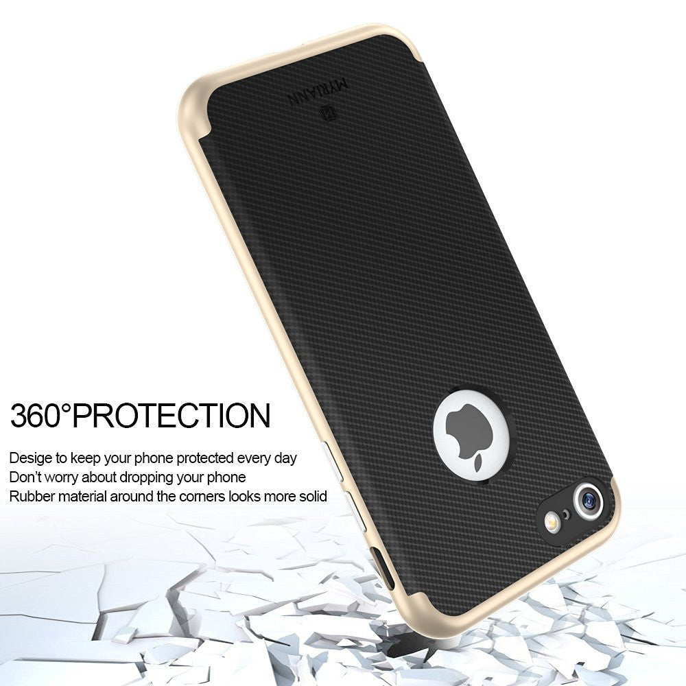 Genuine TAGGSHIELD Slim Shield For iPhone 7 iPhone 7 Plus (Gold)