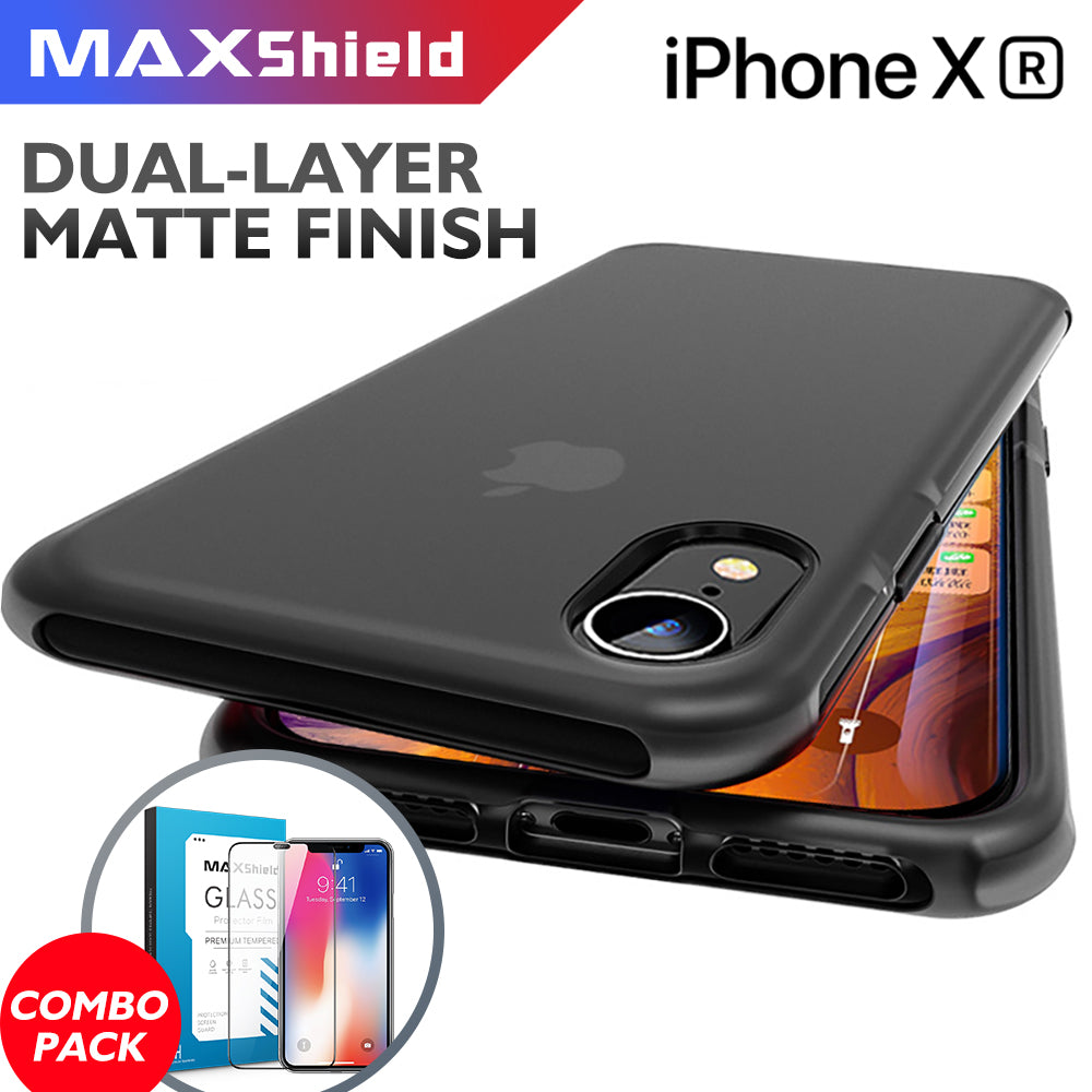 iPhone XS Clear Matte Soft TPU Case Cover