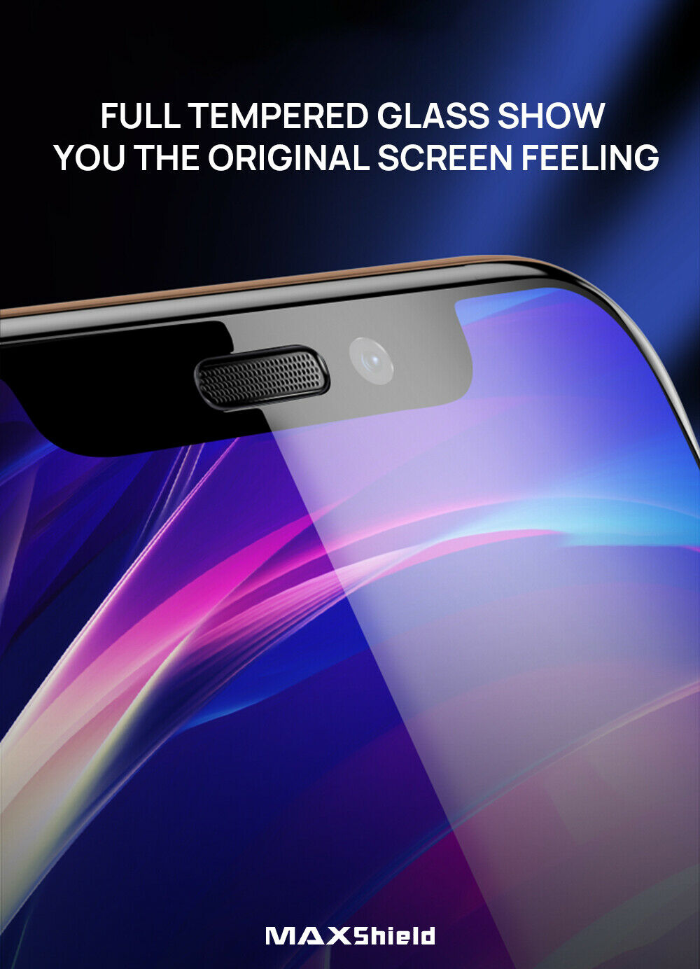 iPhone XI 11 Pro Full Coverage Tempered Glass Screen Protector