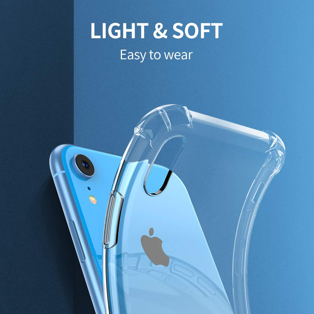 Clear Case For iPhone 7 Plus Shockproof Silicone Protective