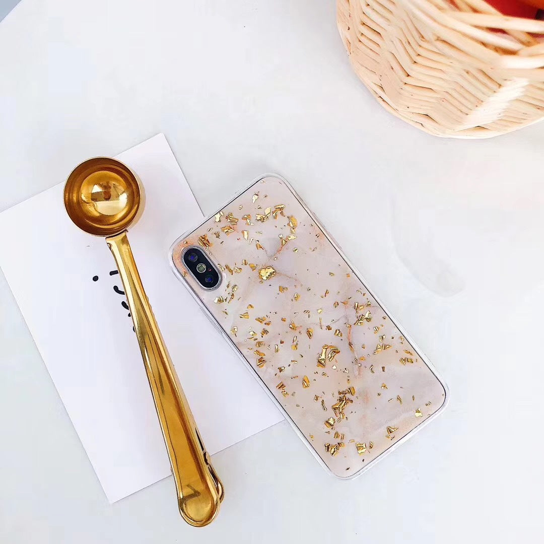 iPhone 8 Plus Case Shockproof Tough Marble Soft Cover for Apple